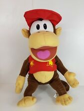 Nintendo Donkey Kong Diddy Super Mario Large Soft Plush Toy Monkey