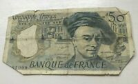 1979 France 50 Francs - World Banknote Currency