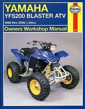 2317 Haynes Yamaha YFS200 Blaster Atv (1988 - 2007) Manual de taller