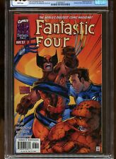 FANTASTIC FOUR #V2 #7 CGC GRADED 9.8 WHITE PAGES 1997 GALACTUS / SILVER SURFER