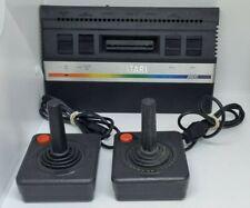 ATARI 2600 Console / 2x Joystick Controllers / Untested NO PSU