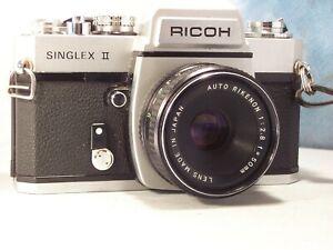 ricoh singlex II objectif 50mm