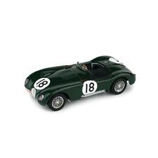 JAGUAR C TYPE N.18 WINNER LE MANS 1953 T.ROLT-D.HAMILTON 1:43 Brumm Die Cast