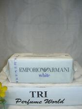 EMPORIO ARMANI WHITE Eau de Toilette for Him EDT Men Spray 3.3 fl.oz. RARE
