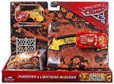 Cars 3 Crazy 8 Crashers Pushover & Lightning McQueen Vehicle 2-Pack