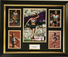 JESSICA ENNIS HAND SIGNED AUTOGRAPH FRAMED PHOTO DISPLAY OLYMPICS LONDON 2012.