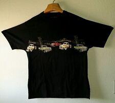 Classic VintageTrucks Horses Graphics Tee Shirt Size L Cotton Bit & Bridle
