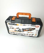 Worx WX523 20v Cordless Saw With  Battery Boxed