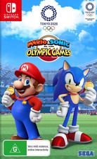 Mario & Sonic at the Tokyo Olympic Games Switch Game NEW