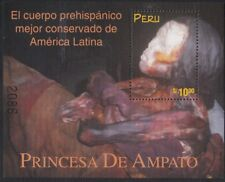 Peru Leaf Block 14 1998 Princess of Ampato Jacket MNH