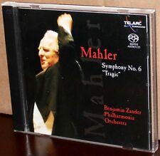 "TELARC 2 x SACD set: Mahler: Symphony No. 6 ""Tragic"" - Benjamin ZANDER, 2002 USA"