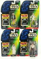Star Wars Kennet POTF Freeze Frame Han solo, Mothma, Rebel fleet, Hoth Soldier