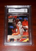 2004 NBA Hoops #136 LEBRON JAMES 2nd Year SP GMA Mint 9! PSA/BGS? 👑📈