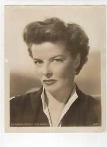 KATHARINE HEPBURN, METRO GOLDWYN MAYER STAR, ORIGINAL 1940'S PUBLICITY PHOTO