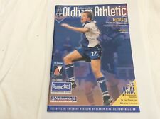 Oldham Athletic  v Bristol City  Nationwide Leauge 2 September   2000