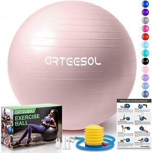 Yoga Ball Gym-Home-Büro mit Pumpe Fitness Ball Balance Ball für Core S(A/03/-20)