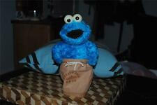 Cookie Monster Sesame Street Potato Sack Racer Motion Sound Doll Fisher Price 02