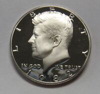 1982-S Clad Proof John F Kennedy Half Dollar Flashy Gem Example DUTCH AUCTION
