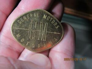 General Motors GM Automobile Car Motorama 1955  Medal  (20J3)