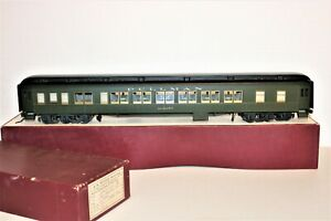"""GAUGE ONE BRASS J&M MODELS BRASS NYC 20TH CENTURY LIMITED PASSENGER CAR """"ALBANY"""""""