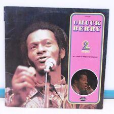 """2 x 33T Chuck BERRY Vinyles LP 12"""" ST. LOUIE TO FRISCO TO MEMPHIS Rock MERCURY"""