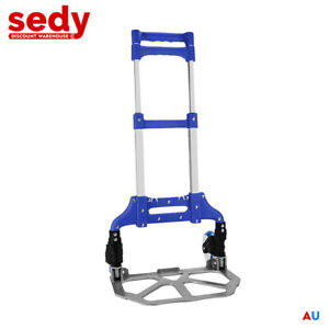 Portable Folding Luggage Cart Hand Trolley Wheel Truck Heavy Duty Load