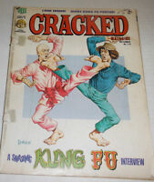 Cracked Magazine Kung Fu Interview No.119 September 1974 072314R