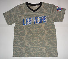 LAS VEGAS 51s AREA 51 ALIEN METS Aviators Minor League Baseball CAMO JERSEY XL