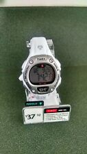 "Timex T5K515 ""Ironman"" 30Lap Women's White Resin Wrist Watch' Indigo BRAND NEW!!"