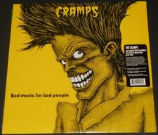 THE CRAMPS bad music for bad people USA LP new sealed reissue 150 GRAM VINYL