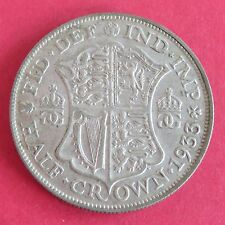 1933 GEORGE V SILVER HALF CROWN