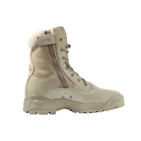 """5.11 ATAC 8"""" Coyote Boot with Side Zip Tactical Boots Multiple Sizes New!"""