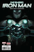 Infamous Iron Man #3 Marvel Comic 2017 1st Print 2017 Unread NM