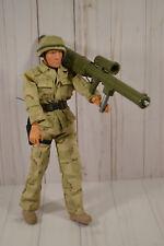 """M&C Toy Centre -12"""" Military Action Soldier Figures w/Uniform & Boots GI Joe"""