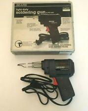 Vintage Used Sears Craftsman Light Duty 100W Soldering Gun 954035 *WORKS*