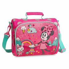 AUTHENTIC DISNEY MICKEY MOUSE CLUBHOUSE MINNIE MOUSE INSULATED LUNCH TOTE BAG