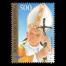 Bosnia 1996 - Pope Johannes Paul II Visiting Bosnien-Herzegowina - Sc 260 MNH