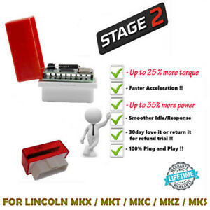 FOR LINCOLN MKX / MKT / MKC / MKZ / MKS OBD2 PERFORMANCE CHIP ADD POWER/FUEL