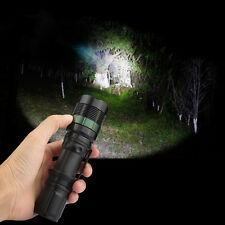 High Power 5000LM Zoomable CREE XM-L T6 LED Flashlight Torch Super Bright Light