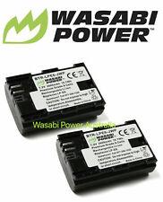 Wasabi Power Batteries for Canon LP-E6, LP-E6N Replacement (2 Batteries)