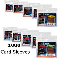 Ultra Pro Soft Trading Card Sleeves 3000 1000 800 600 400 Protection Pokemon MTG