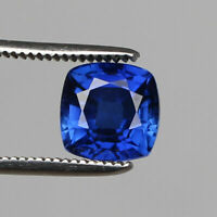 9.70 Ct. Natural Kashmir Royal Blue Sapphire Perfect Square Cut Loose Gemstone
