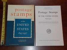BOOK POSTAGE STAMPS OF THE UNITED STATES 1847-1957 WITH SUPPKEMENT RARE SCARCE