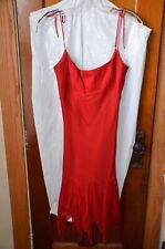 A.B.S. Allen Schwartz Petites Red sexy dress/size 6/worn once for party