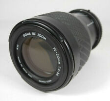 Sigma 70-210mm f4-5.6 Telephoto Zoom Lens for Pentax K Mount