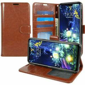 For LG Solo LTE L423DL Premium PU Leather Wallet Case Flip Cover Stand Pouch