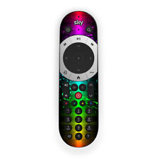 Rainbow Wave sky Q Touch Remote Control Skin sticker
