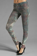 JOE'S JEANS The Skinny Granite Tie Dye in Mountain Rose Teal Green Pink sz 26