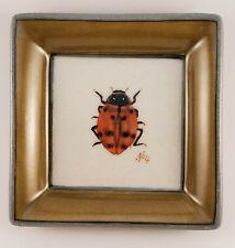 Vintage Homart Ladybug No. 4 Decorative Dish Trinket Tray