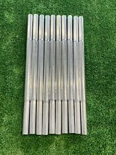 Golf Club Extensions Stainless Steel 10 Pieces For Steel Shafts .580 Butt